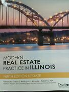 Modern Real Estate Practice In Illinois By Filmore W. Galaty And Wellington Vg