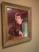 Dark Shadows Signed And Framed Barnabas And Angelique Portraits. Set Of 2.