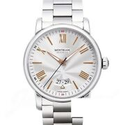 4810 Date Automatic 114852 New Watch Men's Silver Ss