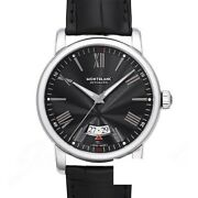 4810 Date Automatic 115122 New Watch Menand039s Leather Black