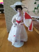 Franklin Heirloom Disney Mary Poppins Porcelain Doll Vintage Collectors Edition