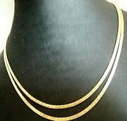 Necklace Type Collier Vintage Yearsand039 60 In Yellow Gold Solid 18k Made In Italy