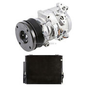 For Toyota Tundra 2007 2008 2009 Oem Ac Compressor W/ A/c Condenser And Drier Tcp