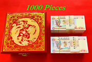 1000 Pcs/lot Chinese One Centillion Dragon And Phoenix Paper Banknotes/with Box