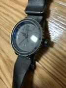 Nixon The Diplomat Japan Limited Edition Of 600 Discontinued Round Watch W/box