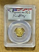 2008 W 5 American Gold Buffalo - Only Year Of Issue Pcgs Pr70 Moy Lable Nkts