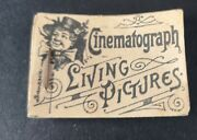 Cinematograph Living Pictures Flick / Flip Book Optical Toy Circa 1890 Animation