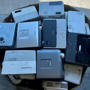 Lot Of 65 - Projectors Mix Of Brands - As Is - Benq Epson Hp Hitachi Nec