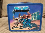 Masters Of The Universe Alladin Lunchbox Amd Thermos 1983