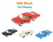 1967 Chevrolet Impala Hardtop Kinsmart Diecast Model Toy Cars 143 5and039and039