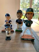 Mike Piazza Hall Of Fame Lot Including Bobbleheadsandnbsp Celebrate A Ny Mets Legend