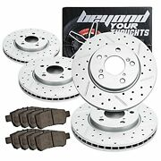 Beyond Your Thoughts Replacement Front & Rear Kit Compatible For 2008-2012 Ho...