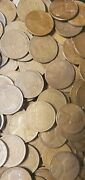 1lb Of Unsearched Lincoln Wheat Pennies 1909-1958 Mixed Teens ,20s,30s,40s,50s
