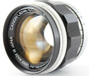 Canon 50mm F/1.4 L39 Ltm Leica Screw Mount Lens [excellent] From Japan 500