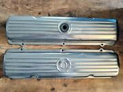 1959-1964 Oldsmobile Factory 394 Starfire Chrome Valve Covers Nice Driver Cond