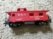 Tyco - Bando Baltimore And Ohio - 2810 Red Caboose - Used