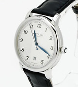 Star Legacy Automatic Date 39mm 116522 Menand039s Watch Silver Dial Leather