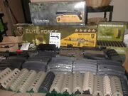 M4a1 Carbine Airsoft Rifle Elite Force Tan And Black Ultimatepackage 1 Of A Kind .