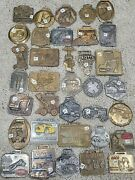 Estate Lot Old Pocket Watch Fob Heavy Machinery Old Antique Vtg Case Tractor +++