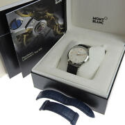 Heritage Chronometry Menand039s Automatic Watch Back Scale W/boxed White