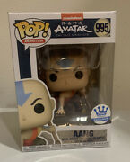 Avatar The Last Air Bender Aang 995 Funko Exclusive Pop In Hand Free Shipping