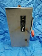 60 Amp General Electric Heavy Duty Safety Switch Np1578000c 600vac, 50hp, Th3362