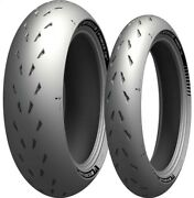 Michelin Power Cup 2 Motorcycle Dot Race 120/70-17 200/55-17 New Pair Set