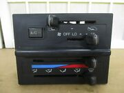 91 92 Toyota Land Cruiser Oem Dash Manual Climate Control Hvac Heater With A/c