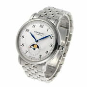 Star Legacy Moonphase 117326 Automatic Silver Dial Ss Silver 42mm Men