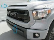 2014-2017 Genuine Toyota Tundra Trd Pro Grill Grille Cement Gray 1h5 New Oem