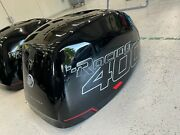 Mercury Verado 400r Top Cowl Brand New Oem Factory Cowling With Lower Decals