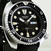 Seiko Diver Third Model Automatic Watch 6306-7001 Stainless Rubber Belt
