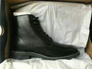 Cole Haan Wagner Grand Plain Toe Boot Black C30035 Retail 320