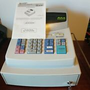 Sharp Xe-a101 Electronic Cash Register With 2 Keys - Tested - See Notes