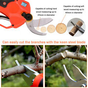 Dc 25v Cordless Electric Trimmer Pruning Shears For Garden Cutting Professional