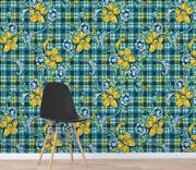 3d Yellow Flower Zhu375 Wallpaper Wall Mural Removable Self-adhesive Zoe