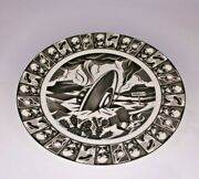 222 Fifth Slice Of Life Plate Lot Of 6 Lunar Barbeque Hitchhiking Angel Ect.