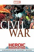 Marvel Heroic Roleplaying Civil War Event Book Essentials By Cam Banks And Rob