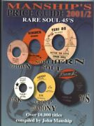 Manships Price Guide Rare Soul 45and039s Manshipand039s Records By John Manship