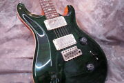 Paul Reed Smith Prs 2011 Custom 24 10 Top Emerald Gree Used Electric Guitar