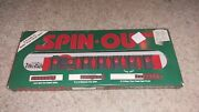 Vintage Spin Out Puzzle Game W Original Box And Paperwork 1987 Binary Arts
