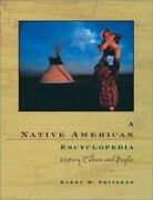 A Native American Encyclopedia History, Culture, And By Barry M. Pritzker Vg+