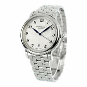 Star Legacy 117323 Self-winding Transparent Back Ss Silver 39mm 130g