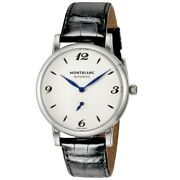 Star 17073 Automatic Waterproof Small Second Ss Leather 39mm 52.5g Men
