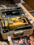 Topcon Gts-605 5 Total Station W/ Case Charger And Battery