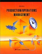 Production/operations Management Irwin Series In By William J. Stevenson Mint