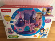 Fisher Price Little People Disney Princess Songs Palace Cinderella Castle New