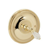 Phylrich Regent Cut Crystal 8 5/8 Crystal Lever Handle Shower Handle Only