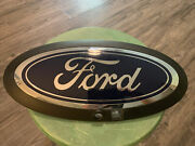 2020-21 Ford F250, 350, 450 Front Grille Emblem Blue Lc3b-8b262-aa