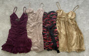 Women's Lot Of 4 Dresses Size 2 Semi Formal/special Occasion/cocktail/homecoming